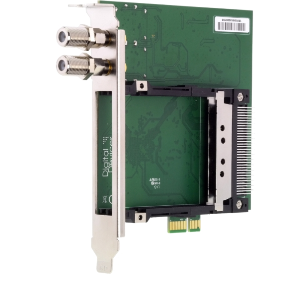 DD OctopusCI S2 Pro Advanced - Twin CI and Twin DVB-S2 Tuner for PCIe Slot
