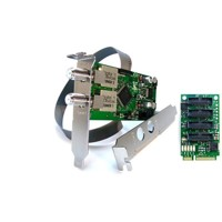 DD DuoFlex S2 Octopus mini PCIe - Tuner Card DVB-S/S2 (4 Port Bridge)