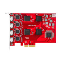 TBS-6314 Quad HDMI HD Raw Data Video Capture-card