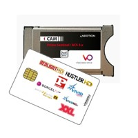 Redlight Elite 8 Stars  Viaccess card  + Viaccess Cam